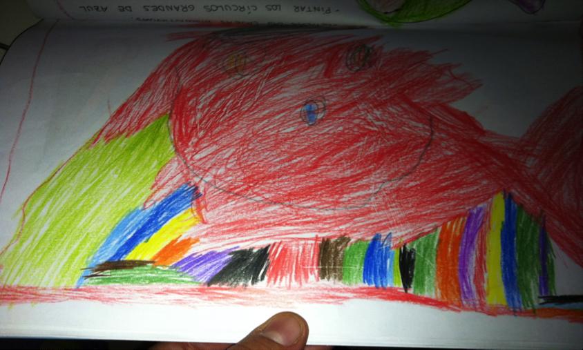 Ejemplos de construcciones y dibujos de los niños superdotados en la ...