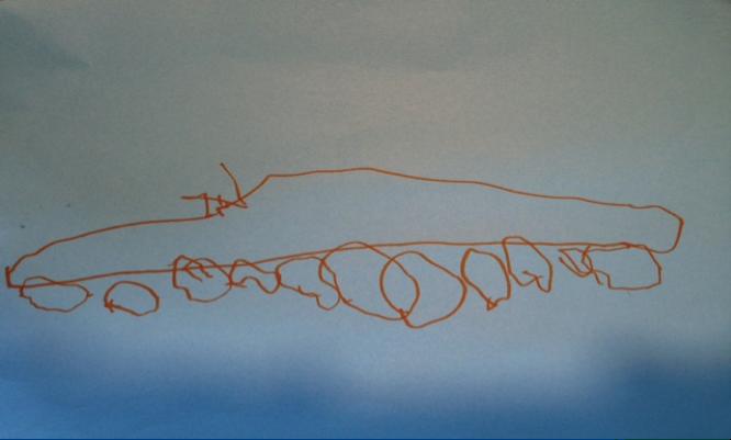 Ejemplos De Construcciones Y Dibujos De Los Niños Superdotados En La