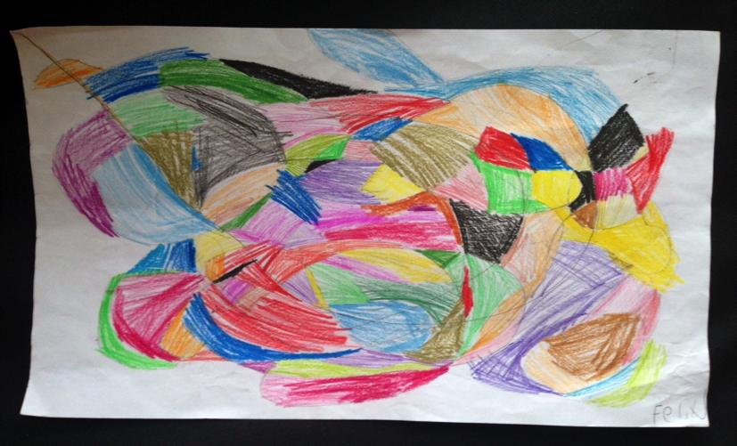 Dibujo Abstracto Para Ninos